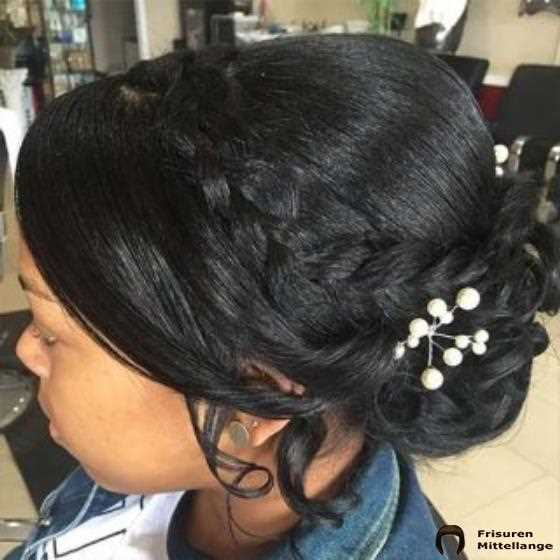 Low Braided Updo