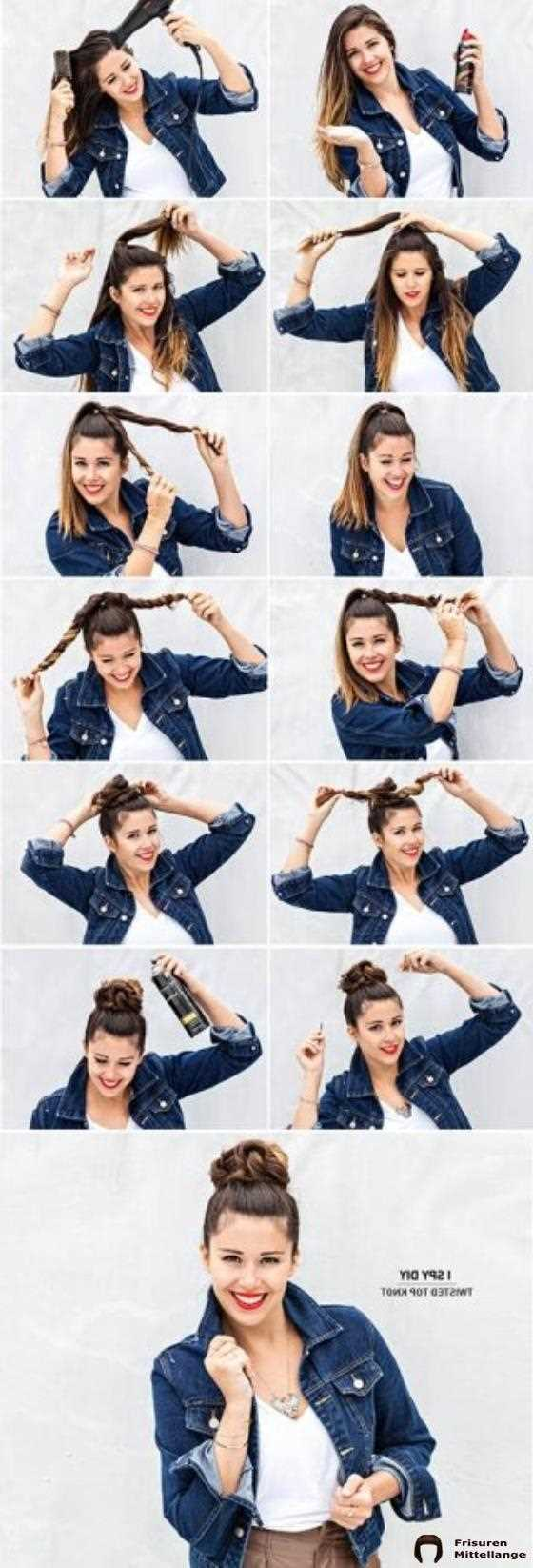 Twisted Top Knot