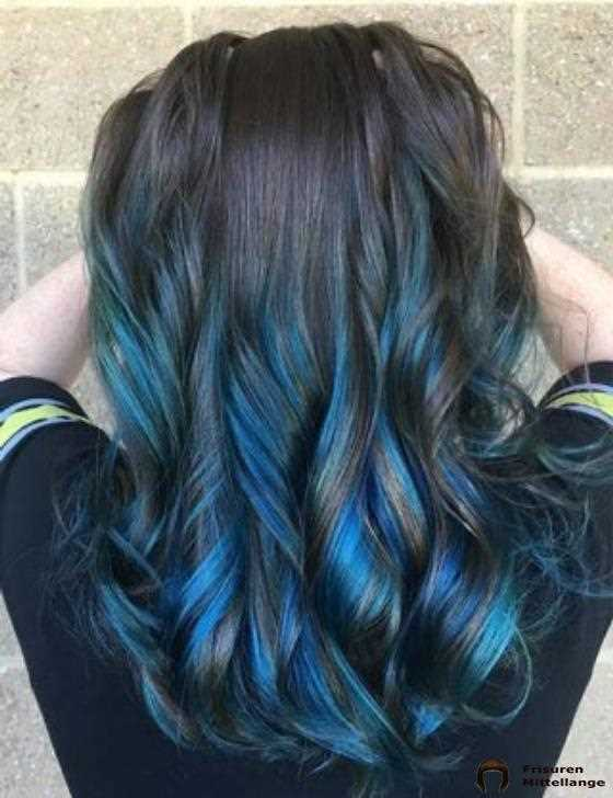Electric Blue Highlights