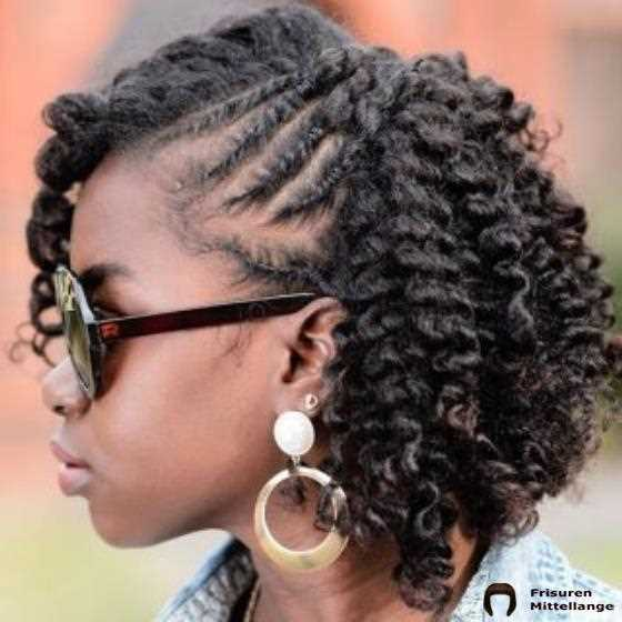 French Twisted Mini Cornrows