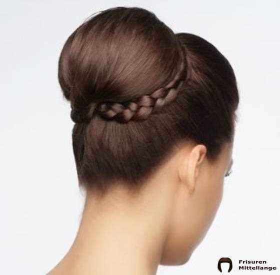 Hocker Bun Mit Braid