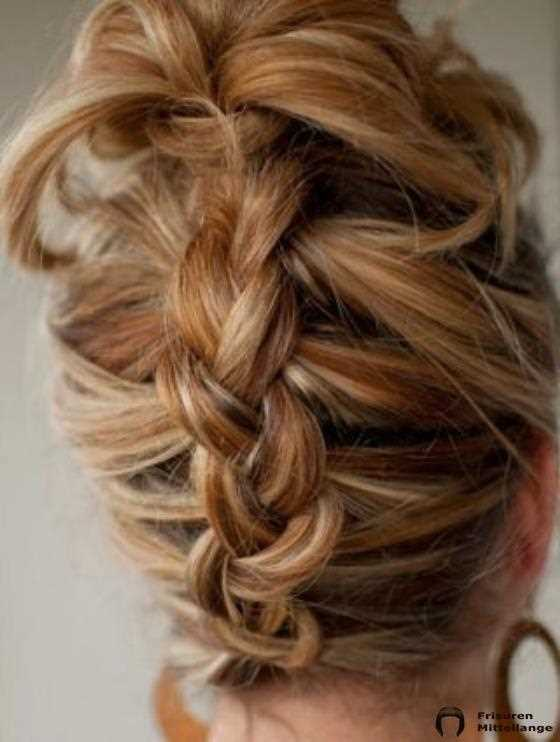 Invertiert Braid Updo