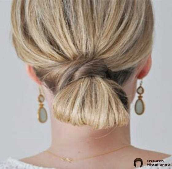 Looped Low Bun