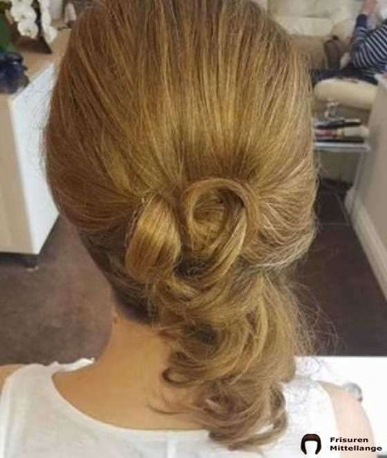 Double Twisted Half Updo