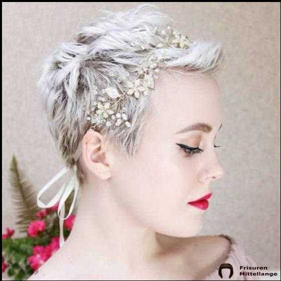 Pixie Haar Wedding Stil