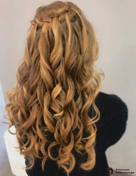 8. Waterfall Braid
