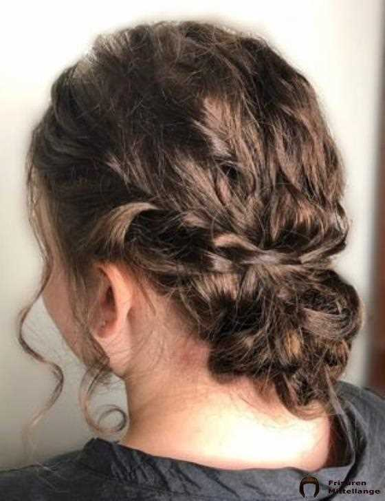 11. Messy Low Bun