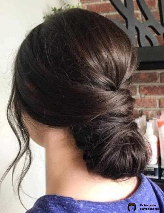 13. Low Twist Bun