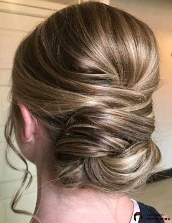 17. Loose Wrap Updo