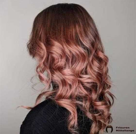 Rose Gold / Rose Braun-Mix