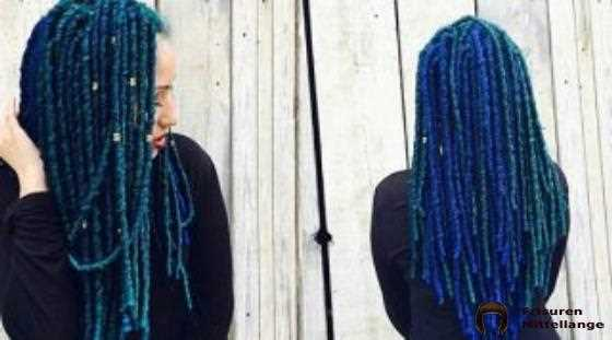 Peacock Faux Locs