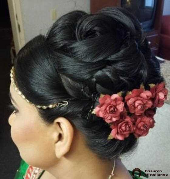 Intricate Floral Updo
