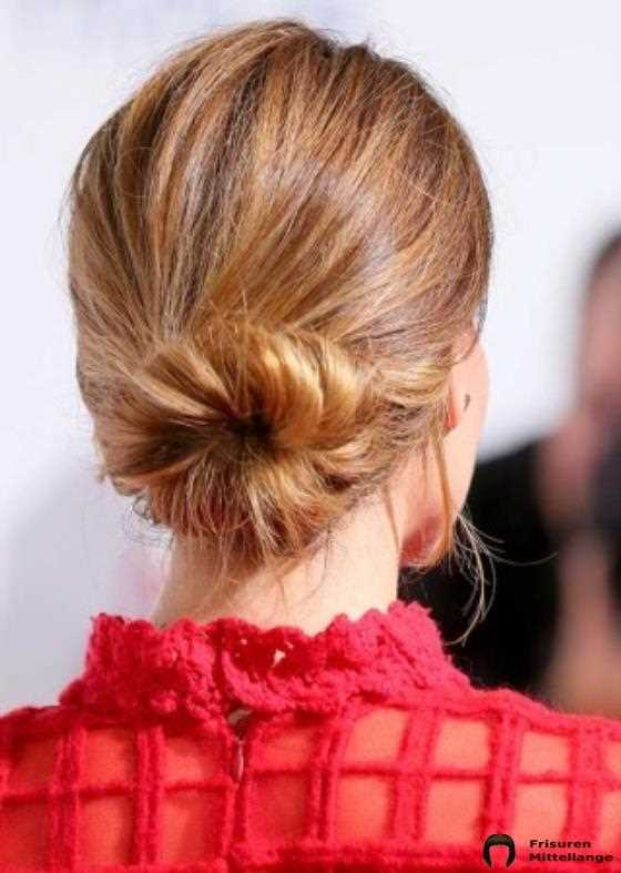 14. Low Twisted Donut Bun: