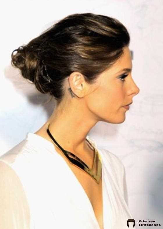 25. Messy Angular Twisted-Bun: