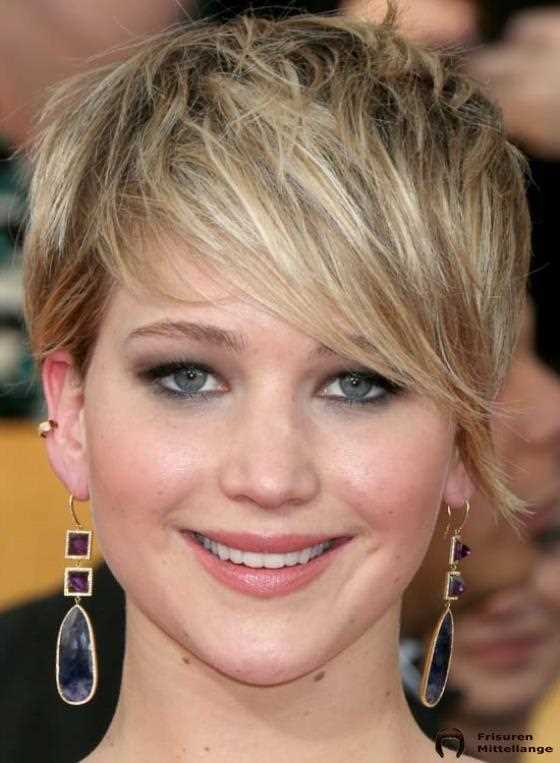 Messy Highlighted Pixie mit Graduated Bang:
