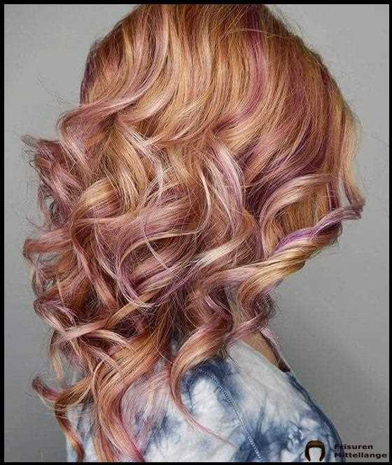 Amethyst Strawberry Blonde Balayage