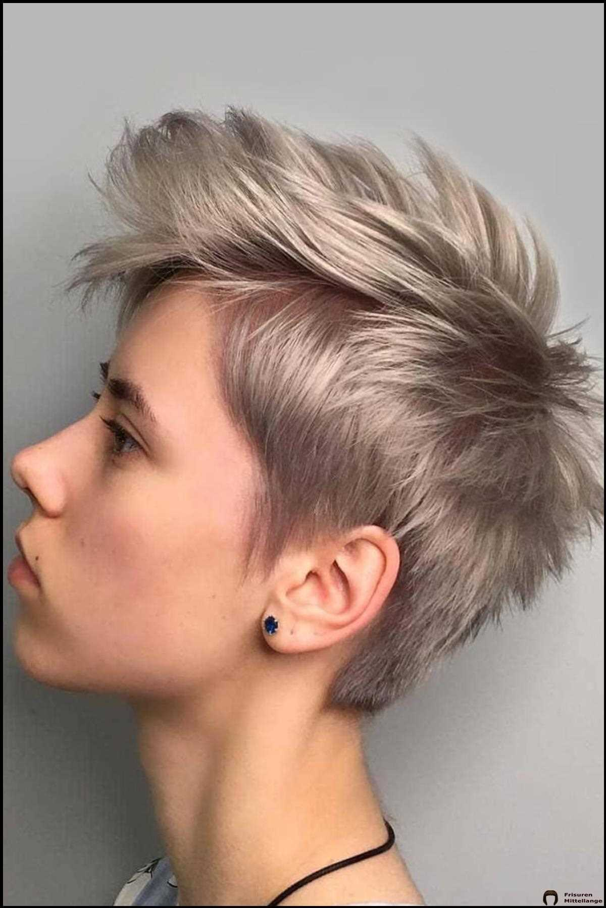 Peach Blonde Pixie